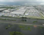 Наводнение в индустриальной зоне Нава Накорн