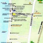 Карта Джомтьена
